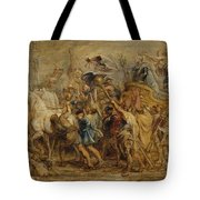 The Triumph Of Henry Iv Tote Bag