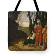 Three Philosophers Tote Bag