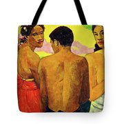 Three Tahitians Tote Bag