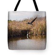 Turkey Creek In Palm Bay Florida Tote Bag