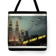 Ufo Postcards Home By Raphael Terra Tote Bag