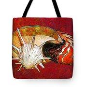 Underwater. Sea Shells. Tote Bag