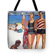 Vintage Hawaiian Art Tote Bag