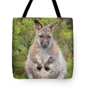 Wallaby Outside By Itself Tote Bag