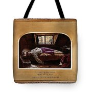 Wallis Henry The Death Of Chatterton2 Henry Wallis Tote Bag