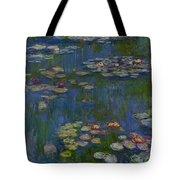 Water Lilies 1916 Tote Bag