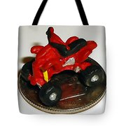 4 Wheeling On A Dime Tote Bag