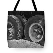 4 Wheels And Sand Tote Bag