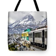 White Pass Mountains In British Columbia Tote Bag