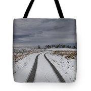 Winter Wonderland In Central Scotland Tote Bag