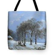 Winterlandschap Tote Bag