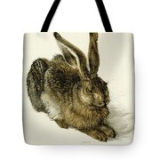 Young Hare Tote Bag