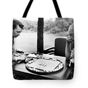 Dwight D. Eisenhower Tote Bag by Granger