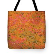 4139 Flaming Maple Tote Bag