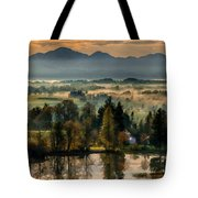 Country Landscapes Tote Bag