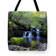 Paintings Of Landscapes Tote Bag