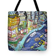 42nd And 8th Street Tote Bag