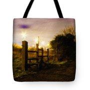 E-landscape Tote Bag