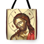 Jesus Christ Lord Savior Tote Bag