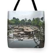4359- Water Wheel Tote Bag