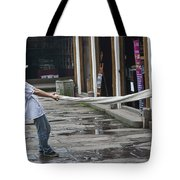 4369- Taffy Puller Tote Bag
