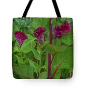 4398- Flower Tote Bag