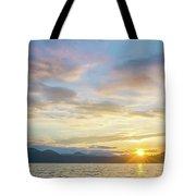 Beautiful Landscape Scenes At Lake Jocassee South Carolina Tote Bag