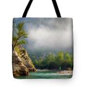 Landscape Luminous Tote Bag