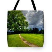 Landscape Print Tote Bag
