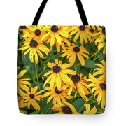 4400- Flowers Tote Bag