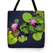 4425- Lily Pads Tote Bag