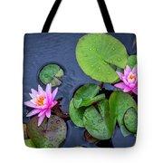 4432- Lily Pads Tote Bag