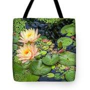 4445- Lily Pads Tote Bag