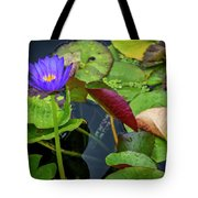 4466- Lily Pads Tote Bag