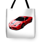 458 Speciale Tote Bag