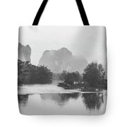 Yulong River Scenery Tote Bag