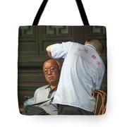 4648- Ear Cleaner Tote Bag