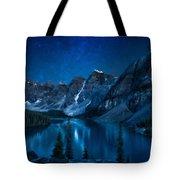 Print Landscape Tote Bag