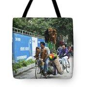 4714- Bicycle Vender Tote Bag