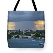 48 Nuclear Storm Tote Bag