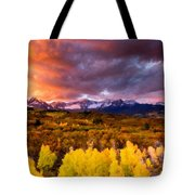 Original Landscape Painting Tote Bag