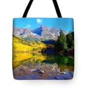 D J Landscape Tote Bag