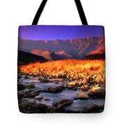 Romantic Landscape Tote Bag