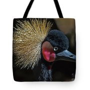 49- West African Crowned Crane Tote Bag