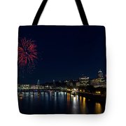 4th Of July Fireworks At Portland Waterfront 2016 Tote Bag