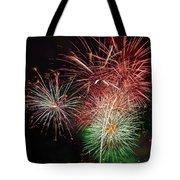 4th Of July Fireworks Display Portland Oregon Tote Bag