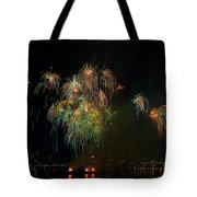 4th Of July Fireworks From The Barge Portland Oregon Tote Bag