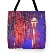 4th Space Needle Tote Bag