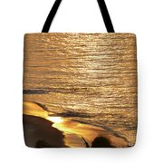 Golden Scenery Tote Bag