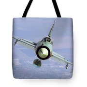 A Bulgarian Air Force Mig-21bis Armed Tote Bag